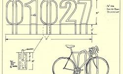 Чертеж велопарковки Майкла Пула