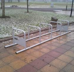 Велопарковка Метро
