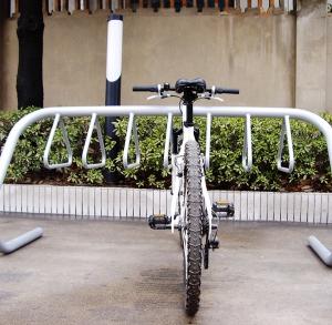 Велопарковка из нержавеющей стали Хангер