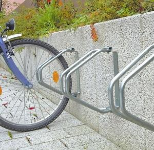 Велопарковка настенная, регулируемая